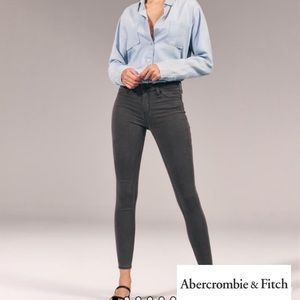 Abercrombie and Fitch Harper low rise jeggings sz0